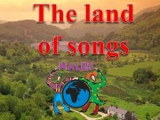 Презентация the land of songs wales