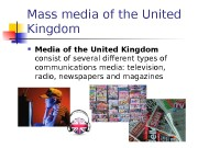 Mass media of the United Kingdom  Media