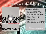 Презентация the shock doctrine