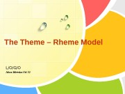 L/O/G/OThe Theme – Rheme Model Alina Biletska IM-52