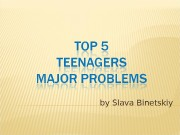by Slava Binetskiy   Why are teenagers