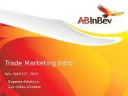 11 Trade Marketing Intro Kyiv, April 17 th