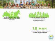 Российские Студенческие Отряды 242 тысячи человек ежегодно выезжает