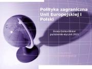 Презентация unia europejska