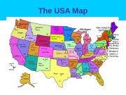 The USA Map  The USA Map