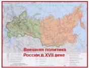 Внешняя политика России в XVII веке  Царь