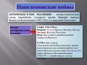 Презентация ВОЙНЫ НАПОЛЕОНА