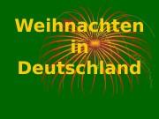 Презентация Weihnachten in Deutschland 2