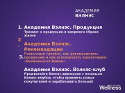 Презентация Wellness Academy Recomendations Part 2