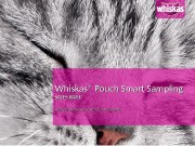 Презентация Whiskas Smart Sampling sales brief 120512