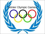 Презентация Winter olimpic games