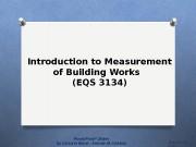 Презентация Wk1 Introduction of QS