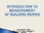 Презентация Wk5 Element Site Preparation