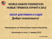 Презентация WKF — rus -kumite-rules-revision-2011-11-11-ss