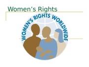 Презентация Womens Rights