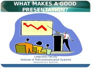 Презентация Workshop PRESENTATIONS