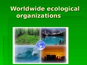 Презентация Worldwide ecological organizations