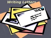 Презентация Writing Letters