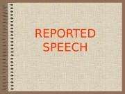 Презентация Z- Reported Speech