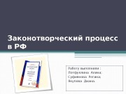 Презентация zakonotvorcheskiy process