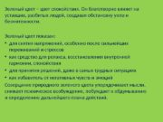 Зеленый цвет – цвет спокойствия. Он благотворно влияет