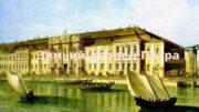 Зимний дворец Петра I 0102  История строительства